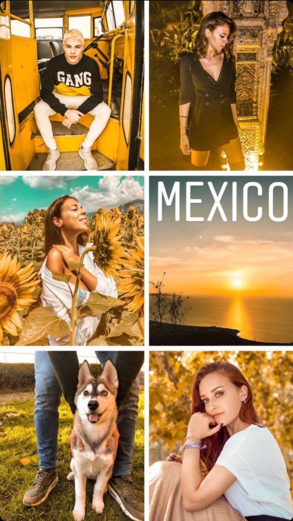 Mexico filtro professionale lightroom