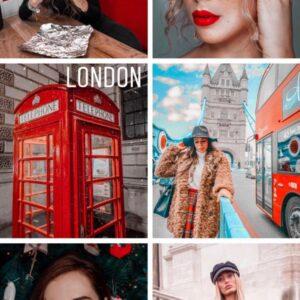 London filtro professionale lightroom