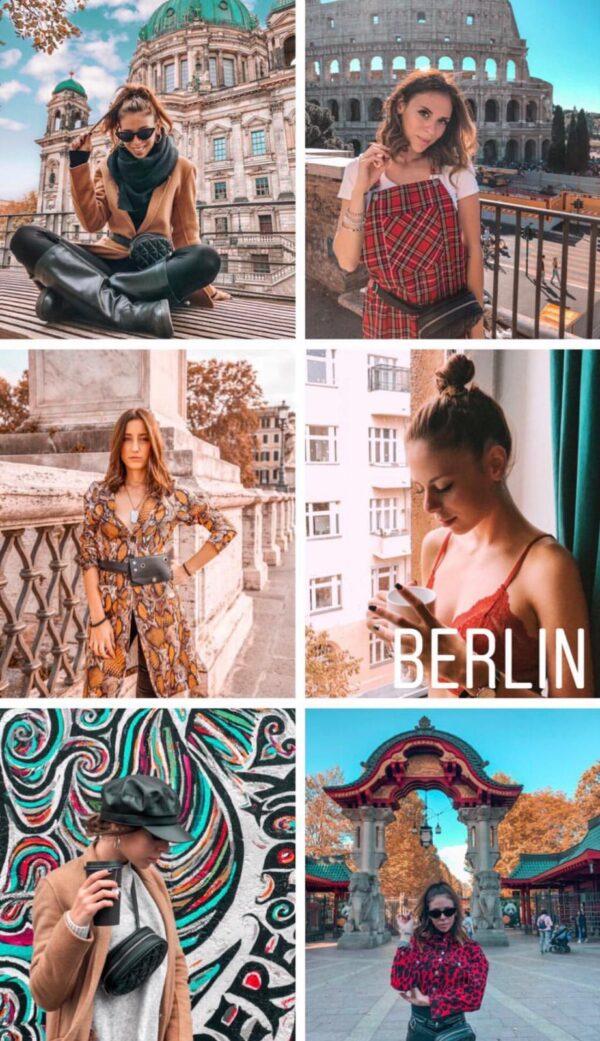 Berlin filtro professionale lightroom