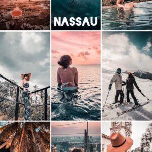 Nassau filtro professionale lightroom