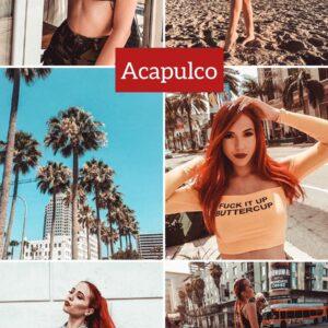 Acapulco filtro professionale lightroom