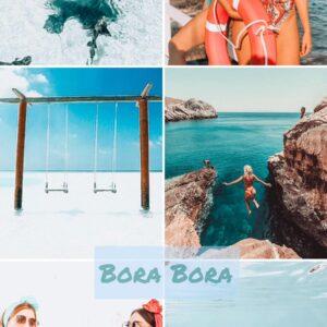 Bora Bora filtro professionale lightroom