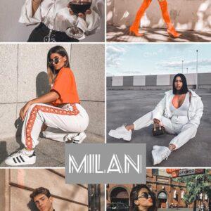 Milan filtro professionale lightroom