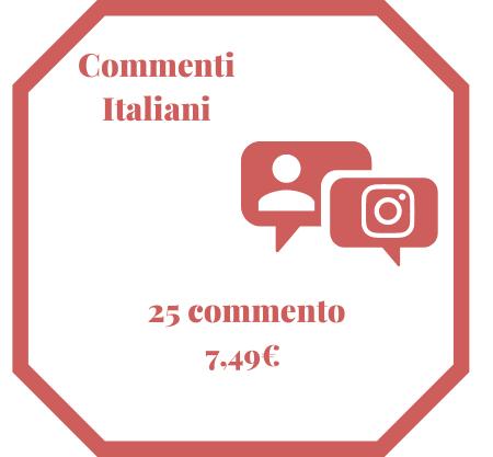25 Commenti italiani
