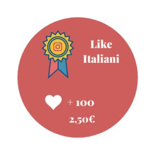 100 Like Italiani