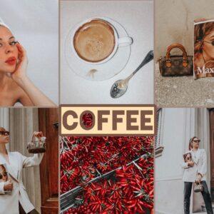 Coffee filtro professionale lightroom