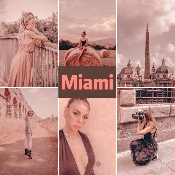 Miami filtro professionale lightroom