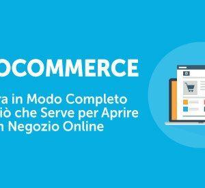 Crea il tuo ecommerce su wordpress con woocommerce