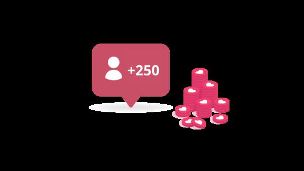 250 Follower Italiani Reali ADULTI su Instagram