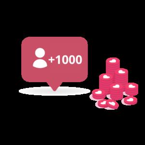 1000 Follower Italiani Reali ADULTI su Instagram